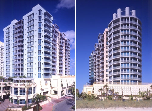 The 1500 Ocean Condominium on the ocean in South Beach