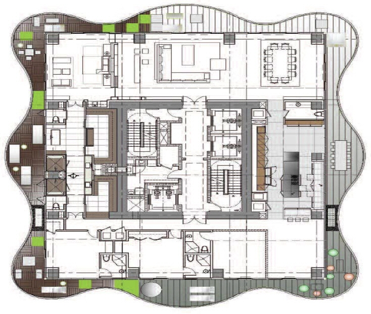 The Regalia Miami Condominium Floorplan