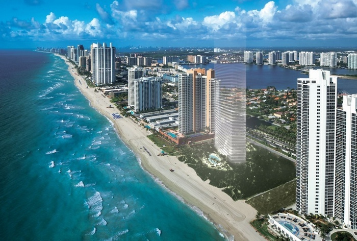 Residences By Armani Casa Inium In Sunny Isles Miami Beach New Oceanfront Designed And Condos On The Ocean