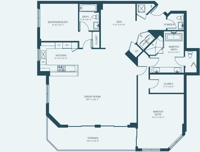 Marina Palms Yacht Club & Condominium Residences Floorplan Da