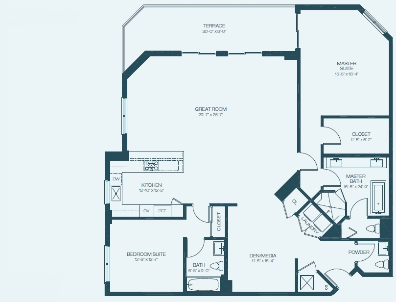 Marina Palms Yacht Club & Condominium Residences Floorplan D