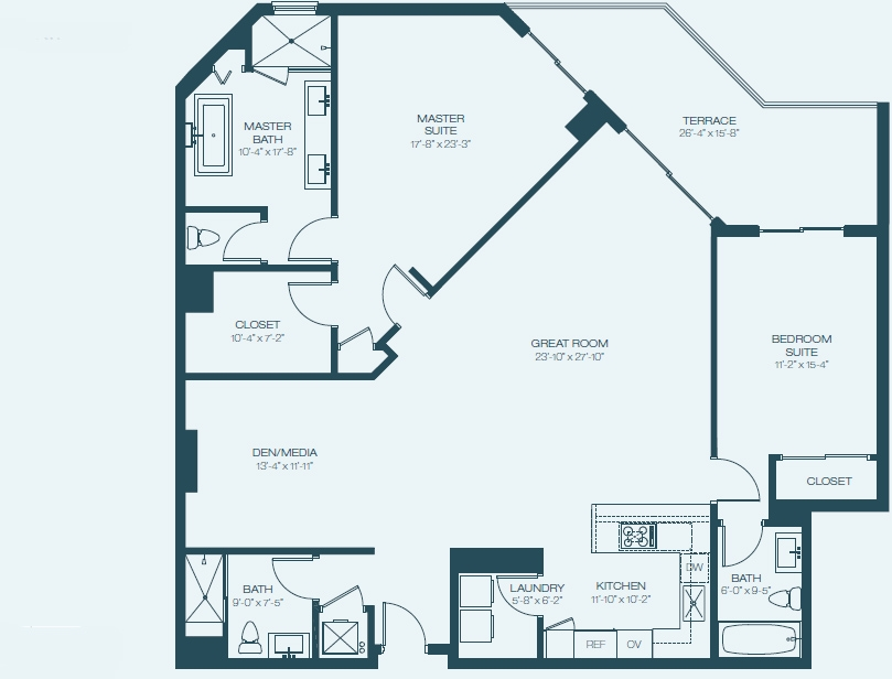 Marina Palms Yacht Club & Condominium Residences Floorplan C