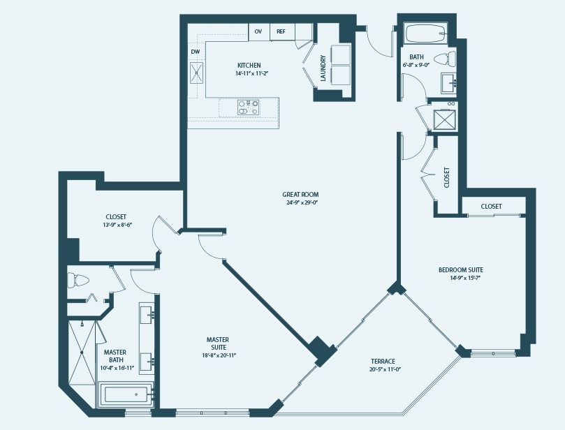 Marina Palms Yacht Club & Condominium Residences Floorplan A